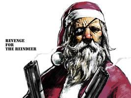 revenge for the reindeer by motoichi69
