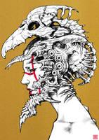 Skull helmet by motoichi69