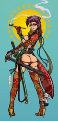 samurai girl ver.LIMITS02 by motoichi69