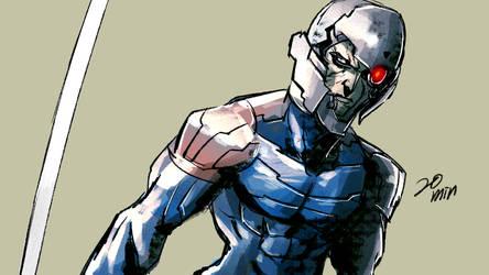cyborg ninja by motoichi69
