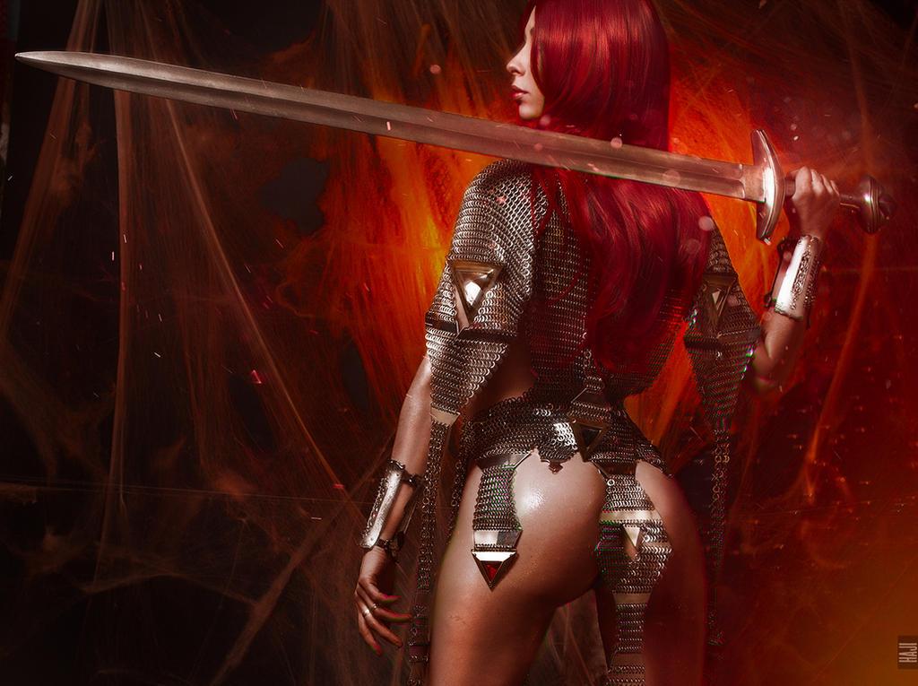 Red Sonja by Haji-san