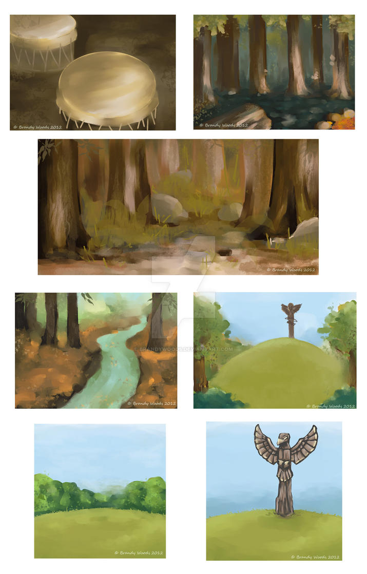 Animation Project Backgrounds by BrandyWoods