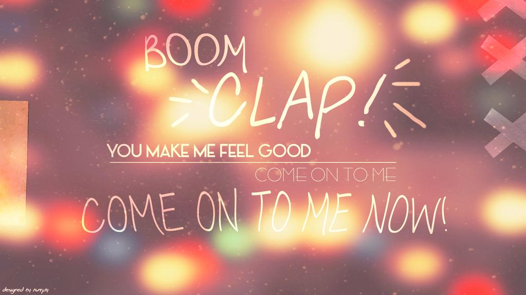 Boom Clap Song Youtube Princess