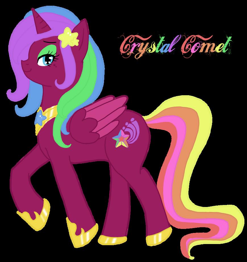 MLP: Princess Crystal Comet By IchigoBunny On DeviantArt