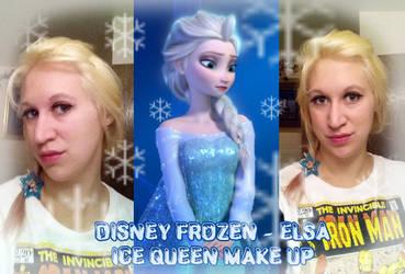 Elsa Hair and Make up test by IchigoBunny
