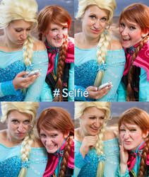 Frozen Selfies by IchigoBunny