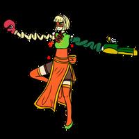 WIP Min Min Magical Girl Collab