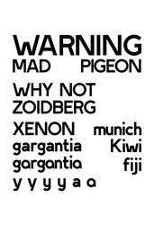Nameless Geometric - WARNING! by desouza-ramiro