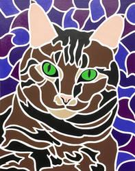 Tabby Cat I - Sofie