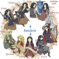 Imladris circle by Windrelyn