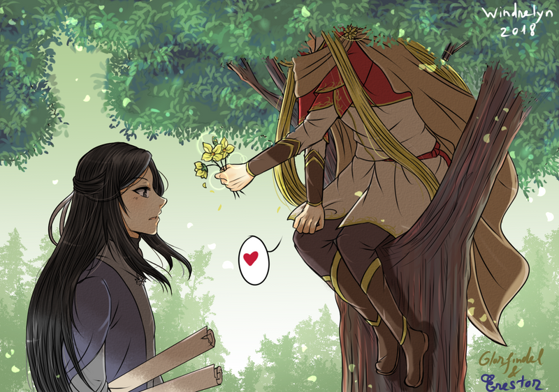 Flower for Chief Advisor by Windrelyn