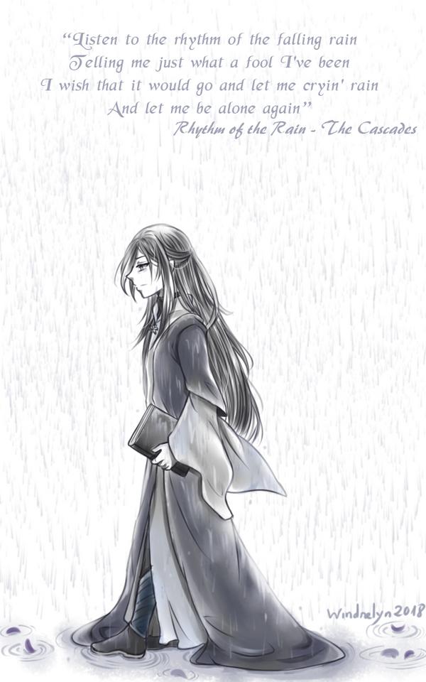 Erestor - Rhythm of the rain by Windrelyn