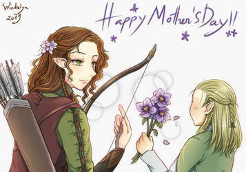 Mother's Day 2019 by Windrelyn
