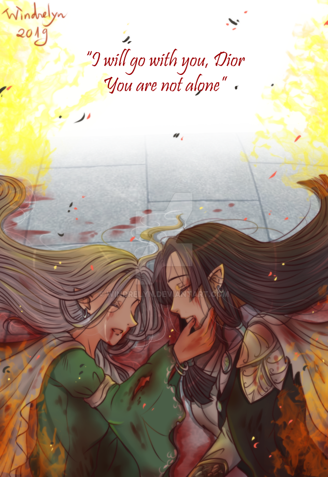 The last moment by Windrelyn