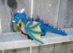 ooak needle felted dragon
