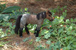 Needle Felted Roan Horse