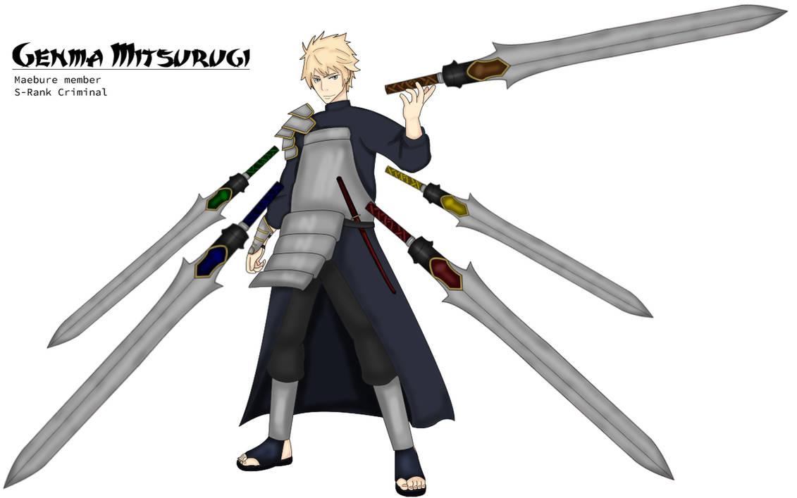Naruto AU: Genma Mitsurugi by jhodder on DeviantArt