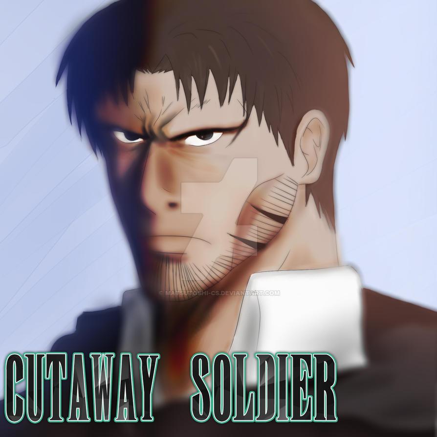 Cutaway Soldier - Cobalt by ShadowHoshigaki102