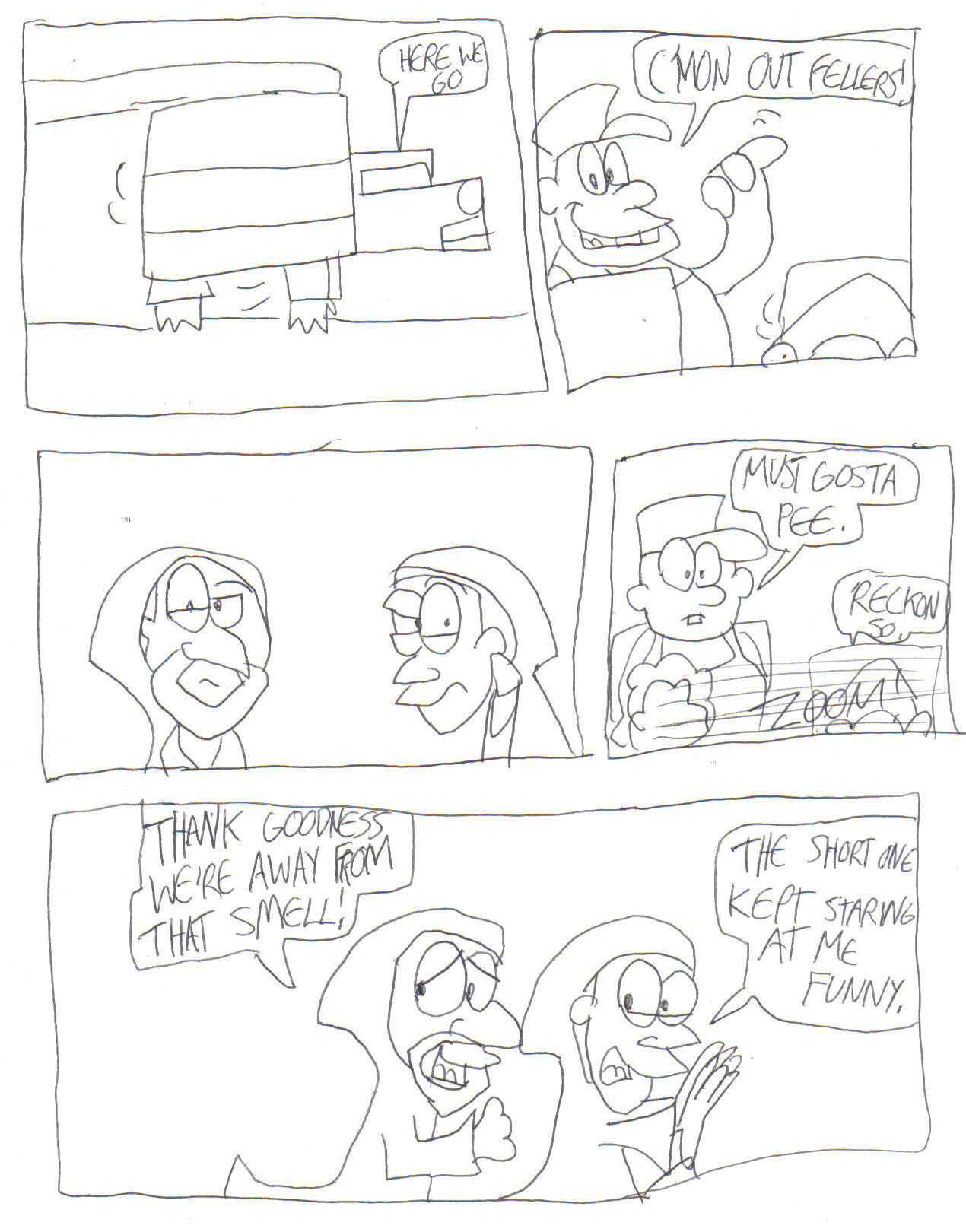 Star farce episode 1 page 3 by blahdiddy2003 on deviantart for Farcical episode crossword