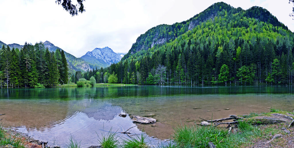 Plansarsko jezero / Pasture Lake by AnaPisek