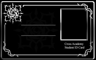 Cross Academy Student ID Card - Day Class