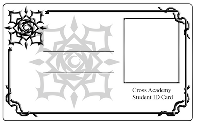 Cross Academy Student ID Card - Night Class