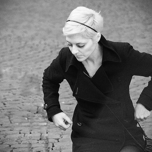 The blonde by AlbinoTonnina