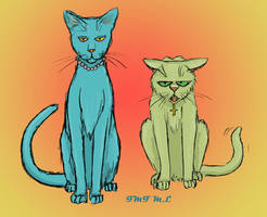 CatDoc and CatKurt by NiccalsNightstalker