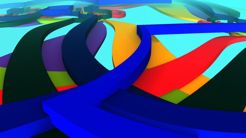 Chroma Speedway by falsestring