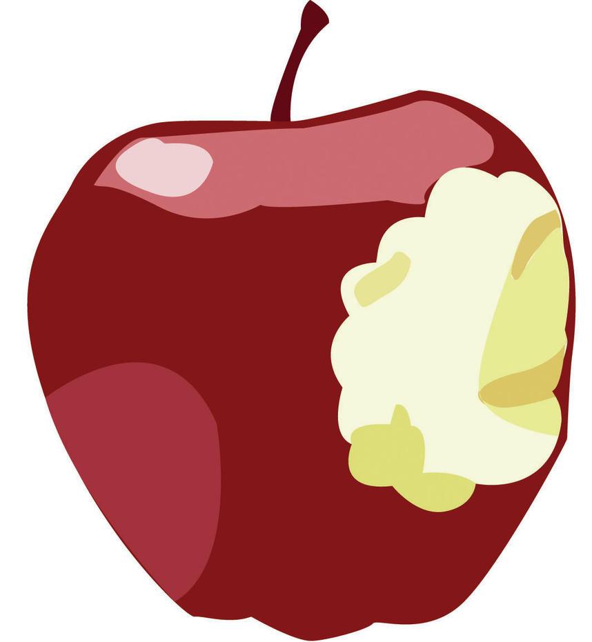 Clip art apple by MoonlightFray on DeviantArt