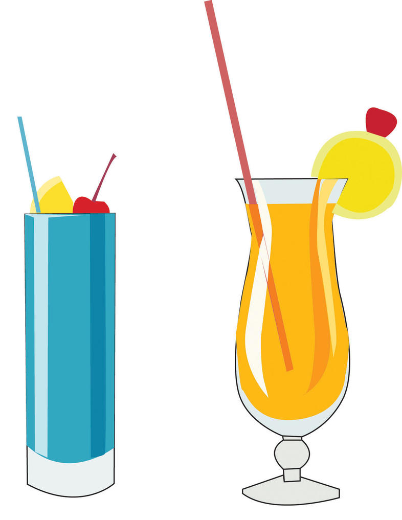 Clip Art Drinks By MoonlightFray