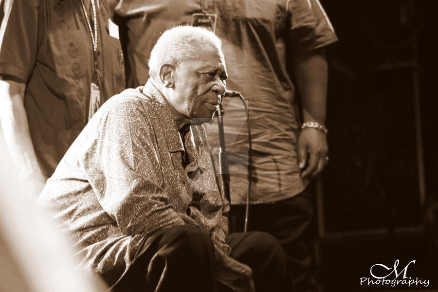 BB KING by MartinaPhotography
