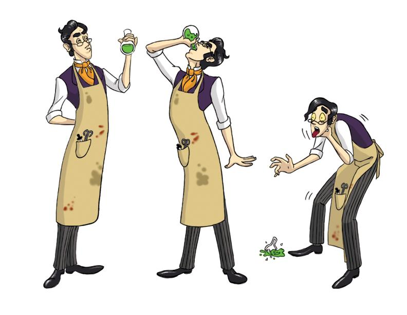 Pagemaster Dr Jekyll: Jekyll And Hyde 1 By Jenaf On DeviantART