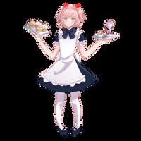 Waitress Natsuki by PlusXPlay2