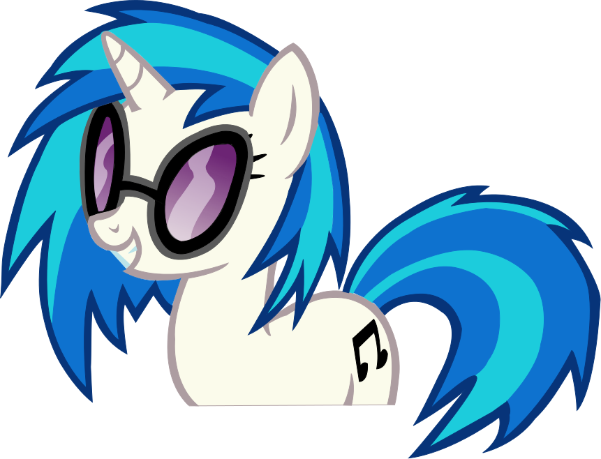Vinyl Scratch Vector by Myythic