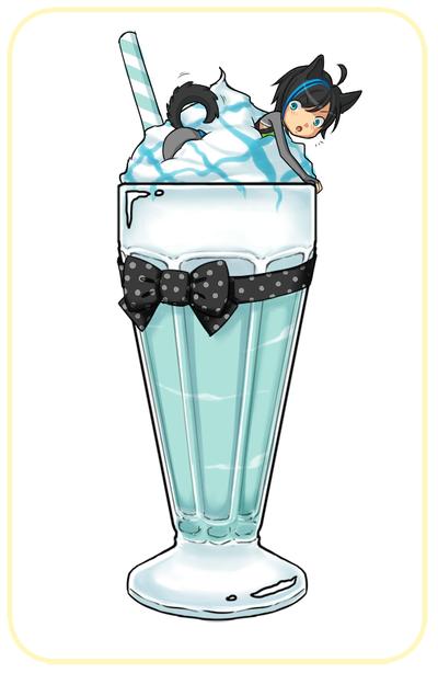 aoh blue heaven milkshake by pinkychu on deviantart