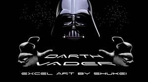 MS Excel: Darth Vader
