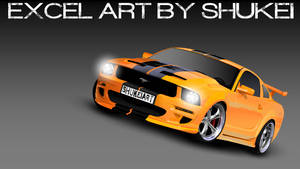 MS Excel: Ford Mustang
