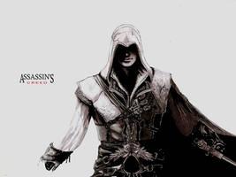 Ezio Auditore by Shukei by shukei20