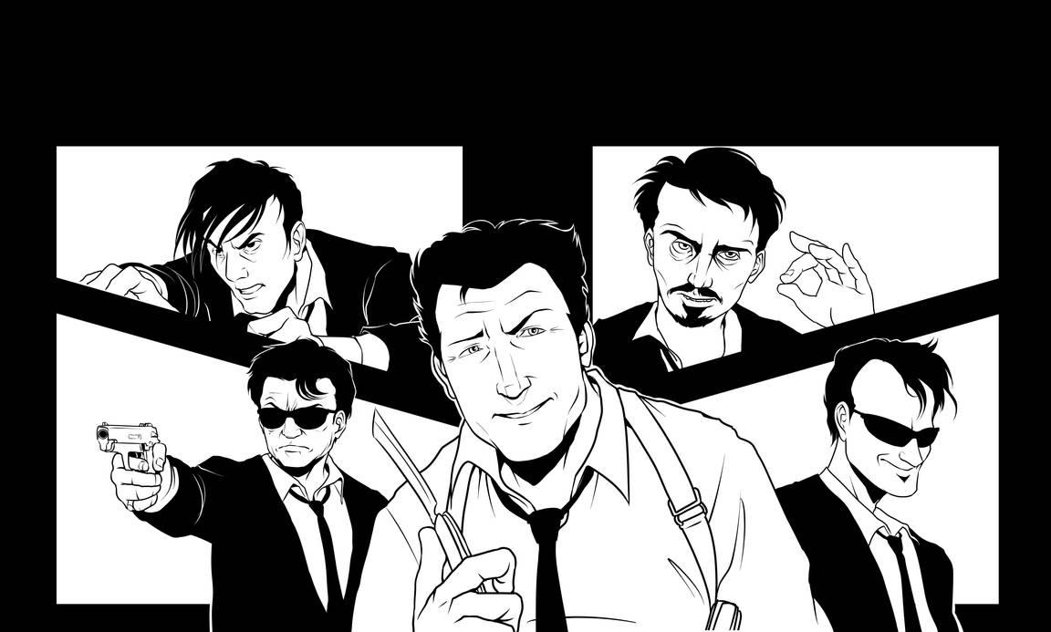 (WIP) Reservoir Dogs Fan-Art by Shukei by shukei20