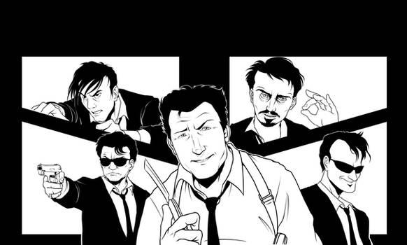 (WIP) Reservoir Dogs Fan-Art by Shukei