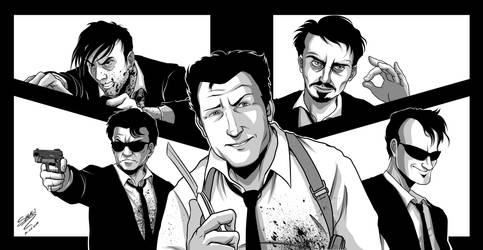 Reservoir Dogs fan-art by shukei20