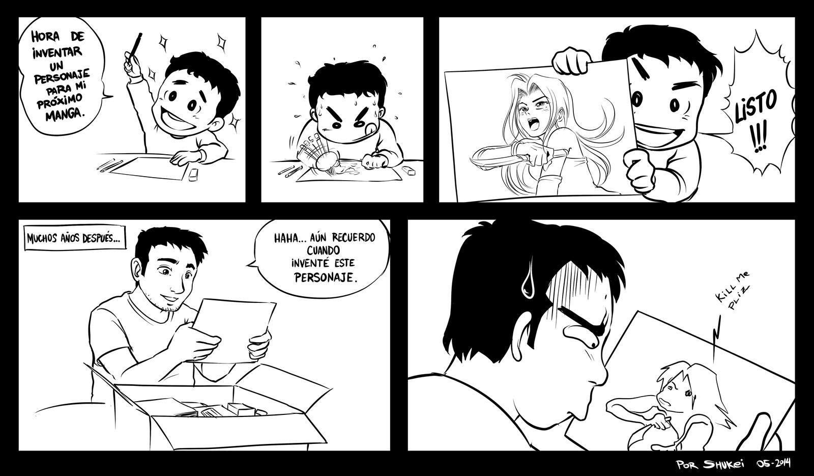 Cosas de la vida de un dibujante by shukei20