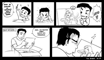 Cosas de la vida de un dibujante