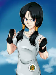 Videl Fan Art by shukei20