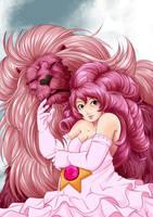 Steven Universe: Rose Fan-Art by shukei20