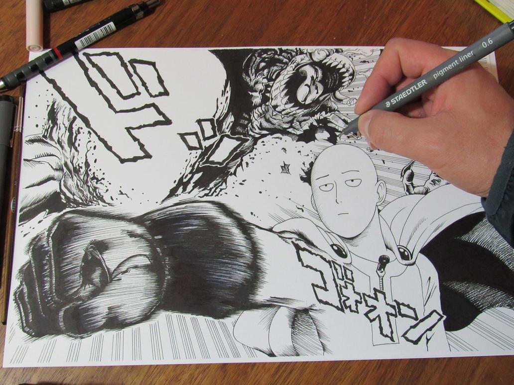 SAITAMA (ONE PUNCH MAN) Tutorial by shukei20