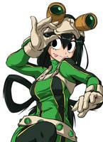 Tsuyu Asui - Boku no Hero Academia by ShukeiArt by shukei20