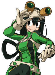 Tsuyu Asui - Boku no Hero Academia by ShukeiArt