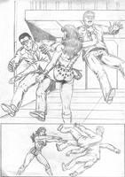 Wonder Woman page 2 by RPL-Arts